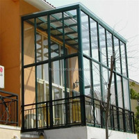 aluminum lowes glass sunroom panels use for sale modern Prefabricated house