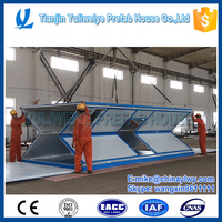 Portable 20 feet Folding house used for Emergency Shelter