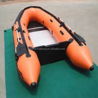NB-AB-230-003 Aluminum Rigid Luxury inflatable boat for drifting