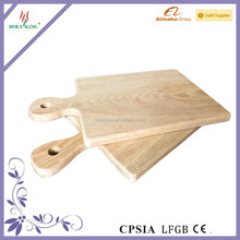 Rectangle Natural Vegetable/Cheese/Pizza Cutting Board with Handle