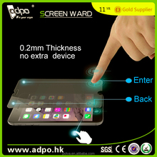 New Product Smart Touch Tempered Glass Screen Protector For iphone 6 +, with addtional BACK and CONFIRM key buttions