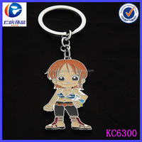 alibaba newest custom pvc key chain for promotion