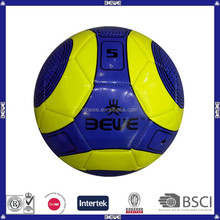 China supplier brand PVC material butyl bladder soccer ball