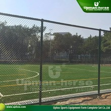 2015 Ball-shaped Hot Galvanizing square wire mesh fence /sports fence/chain link fence