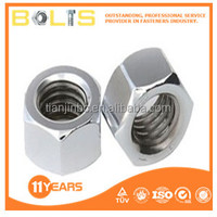 DIN934 grade 4 zinc plated hex nuts