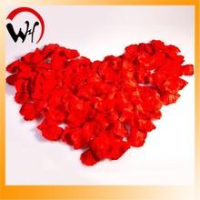 High simulation good quality wedding decoration 2015 Valentine's Day rose petal