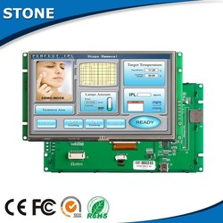 TFT LCD RS232 interface monitor housing 7 inch