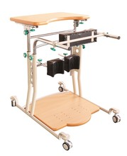 NH21-002A Rehabilitation physiotherapy Metal Standing upright frame with monkey pole(1 person)
