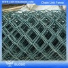 Hot Dipped Galvanized Fence Chain Link Fences Dog Run Chain Link Fence Iron Fence With Solar Light