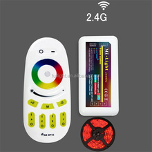 remote control wireless color changed full touch led controller wifi solar controller m-7