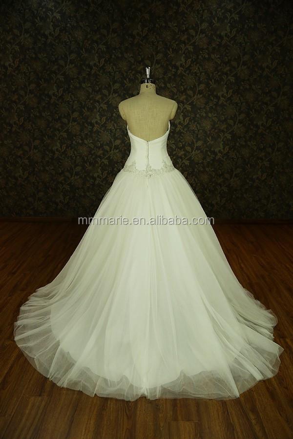 2017 Nova Projetado Vestidos de Casamento Real Da Amostra Pesado Beading Lace vestido de Baile Vestido de Casamento