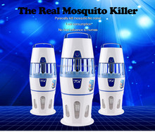 2015 factory Best Indoor Mosquito Killer Auto switch with light sensor UV lamp insect trap, electric mosquito killer