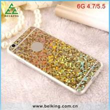 Luxury Bling stars back cover for iPhone 6 glitter phone case
