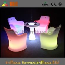 Identity LED Arm Chair/ Identity Bar Chair/ Commercial Bar Chair/ High light Chair/ Bar Decorating Chair// GF111