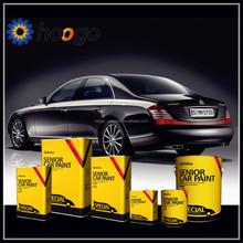 Geicai solild color 2K automotive coatings