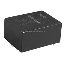 5VDC 12VDC Output AC DC Power Supply Independent Gound 6W Size48 EMI