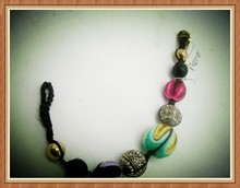 Adjustable Wire Fashion Silicone Bead Bracelet