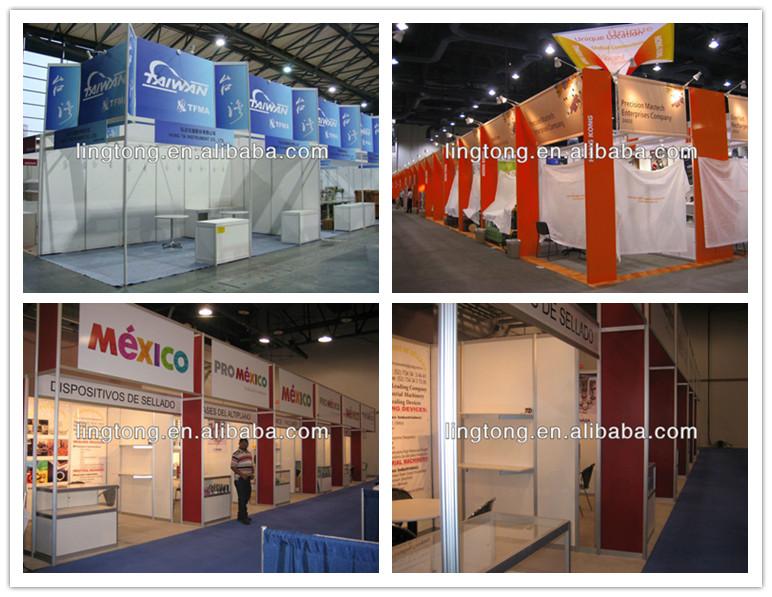 Standard Exhibition Stall Size : Aluminium updated standard exhibiton booth stand stall