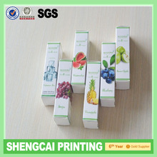 Small box package for 10ml or 15ml bottle(E-Cigarette Packing carton Paper box)