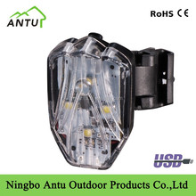 New arrival USB rear bike light bicycle LED light
