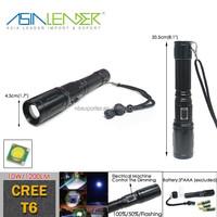 BT-4843 CREE T6 10W High Power Flashlight Torch