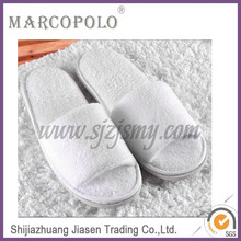 5 Star Hotel Soft Terry Cloth Slipper Using Sponge Sole