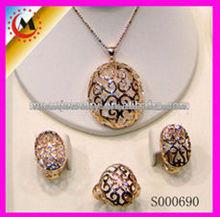 China de fábrica vendedor caliente de la joyería del oro de Dubai