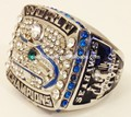 Custom * vente * HAUTE QUALITÉ * Seattle Seahawks Russell Wilson Super Bowl XLVIII championnat NFL anneau