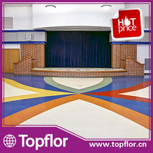 Topbrief Rubber Floor for School Hall