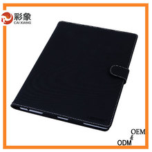 Hot sale Genuine Leather Smart Stand Back Cover with Card Slot convenient Handle tape Cover case for iPad mini1 2 3