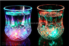 Water sensor pineapple shaped flashing Party Acrylic LED light cup