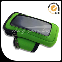 Sports mobile phone covers, Neoprene cell phone bag, wrist bag