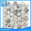 Bathroom and Kitchen Tile Design Hexagon Mosaic Flower Patterns Tile