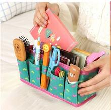 Hot selling Beautiful Fashional Portable Colorful Storage Bag Box Sundries Case
