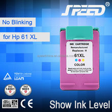 Original Quality Refilled Ink Cartridge for HP61 (CH563W) for HP Printer 1050 2050 with Free Sample