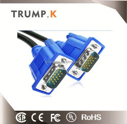 high quality black vga to rca splitter cable