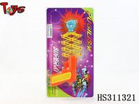 punch gun funny light spinner toy