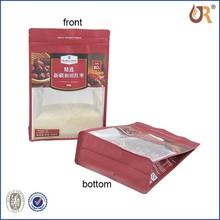 Usine personnalisé imprimé food grade recyled sac / sac en plastique / pochette en plastique