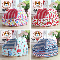 The New Slipper Shape Patterned Lovely Pet Dog House Luxury Pet Bed For Dogs