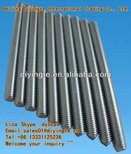 Ss/galvanizado roscado barras de proveedor