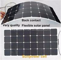 Semi flexible solar panel 2*100W flexible solar panel 200W