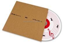 diskcopy high quality cardboard dvd cover cd replication pack