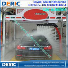 No Damage to Cars Touchless Car Wash Machine, Car Washer With 360 Degrees Spaying Arm