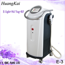 Salon Top best effective 3 IN 1 e-light rf yaglaser with C