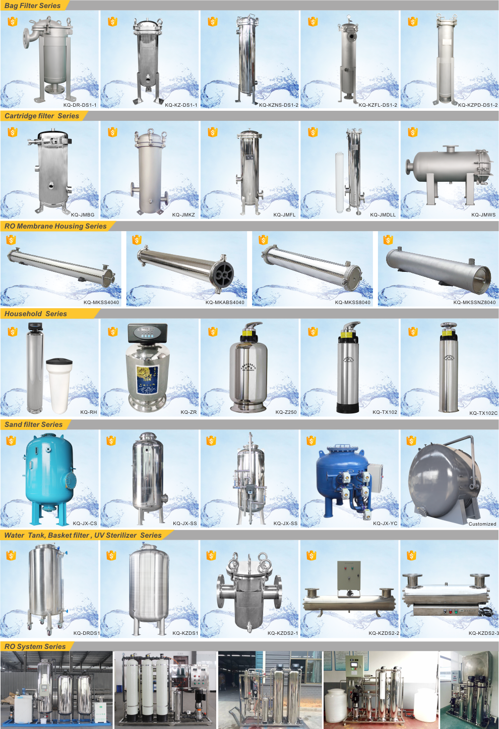 water treatment device china factory
