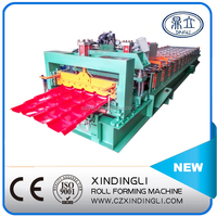 favorable price big color steel corrugated iron roof sheet metal roofing roll making machine,cold galvanizing line
