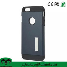 hot product kickstand unbreakable silicon rubber case for iphone 6