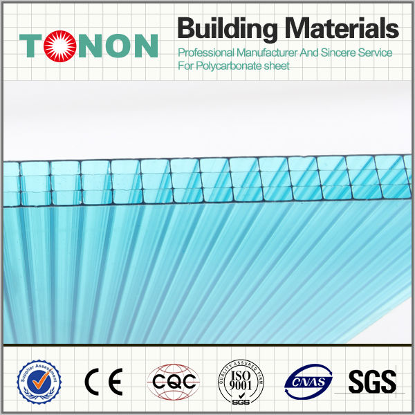 pc sheet polycarbonate plastic panel as tunnel greenhouse for sale