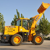 Articulated Chinese 4 Wheel Drive Tractor With Front End Loader