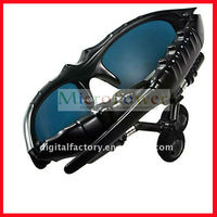 Wireless Bluetooth Sunglasses MP3 Player with earphone Built in 2GB